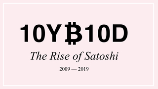 "<h4>10 Years of Bitcoin in 10 Days</h4> <p><a href=""https://10yb10d.mmh.berlin"">mmh.berlin</a></p>"